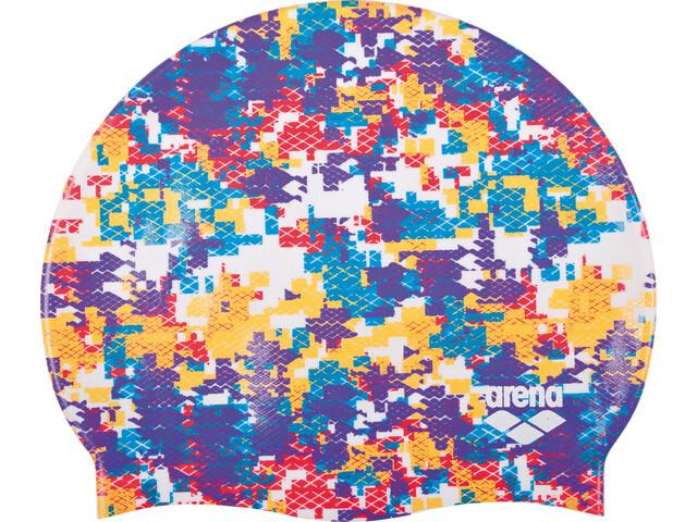 arena Print 2 Swimming Cap arena camouflage mirtilla